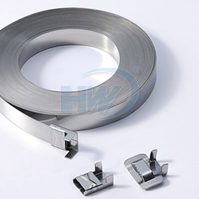 Stainless Steel Free End Type Cable Ties - Free end Type