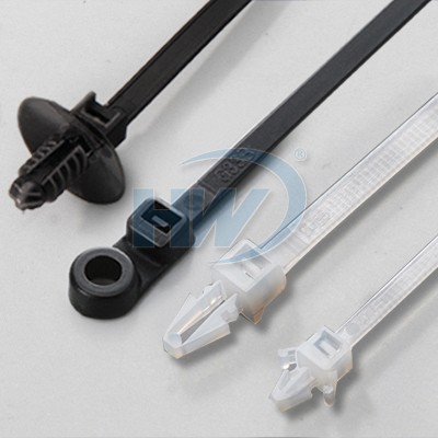 Cable ties mountable - Cable tie mountable