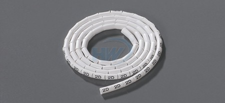Cable Markers,O-Type,Soft PVC, Suitable wire 18AWG, 10mm width - O-Type Cable Markers