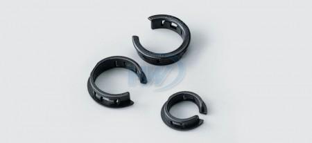 Boccole aperte, poliammide, foro interno su pannello ø12,7 mm - Boccole aperte