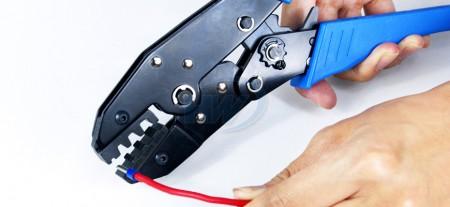 欧式端子夹紧工具,适用线径6~16mm2(10-622-12),230x70x20230x70x20mm - GIT-516E2欧式端子夹紧工具
