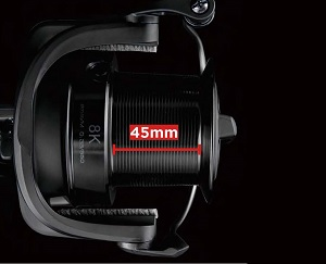 Super Long Stroke Spool 45mm