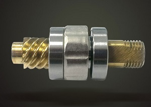 Pinion Gear Supported With 2 Ball Bearings