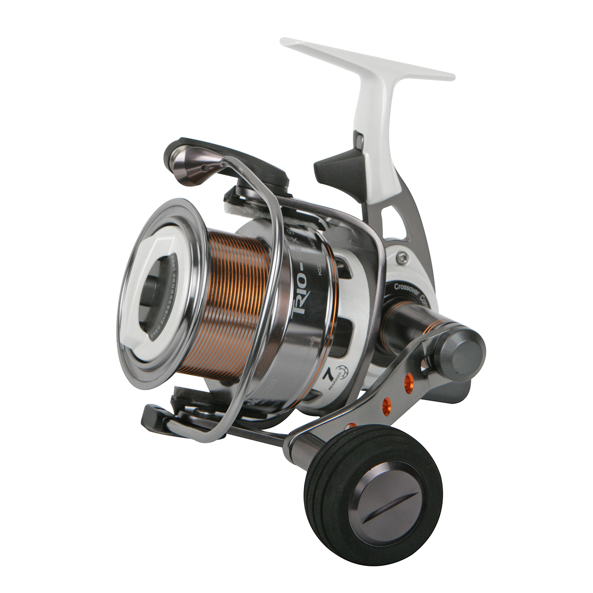 Fishing rods and reels trio rex salt spinning reel for Saltwater fishing reel