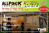 Exhibition  ◆  ALLPACK Indonesia 2018