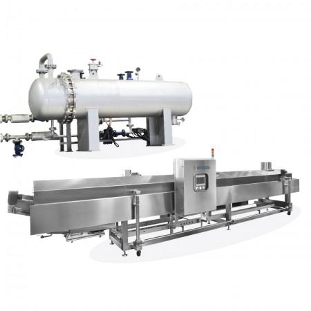 Steam Type Heat Changer Oil Fryer