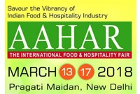 Utstilling ◆ AAHAR - International Food & Hospitality Fair 2018