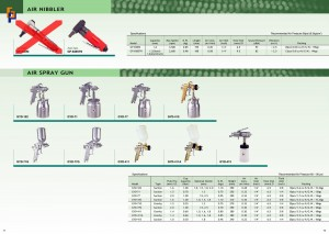 p71~72 Air Nibbler Spray Gun