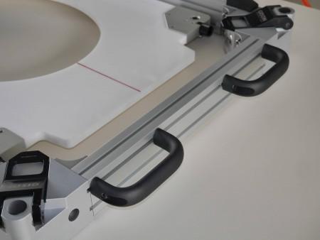 Perfuração de furos em ar úmido e corte e moldagem de fresadora (cortador de furos)
