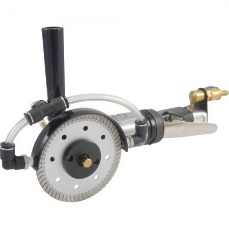 Wet Air Saw for Stone (11000rpm, Left Handle) - Wet Pneumatic Stone Saw (11000rpm)