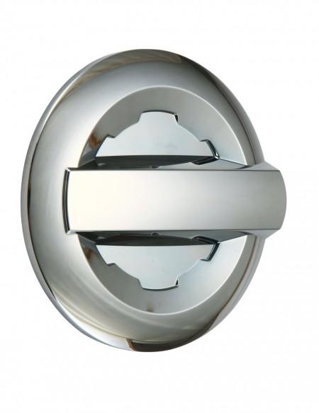 Chevrolet Silverado 2500 Chrome Gas Door Cover - 14-15 SILVERADO 1500 15 SILVERADO 2500/3500