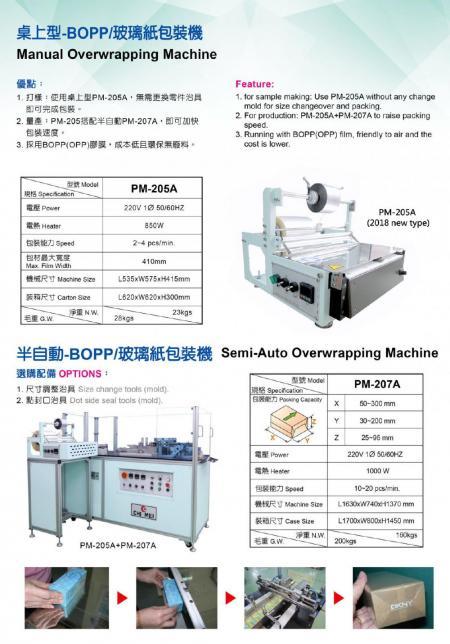 BOPP/玻璃紙包裝機 P02