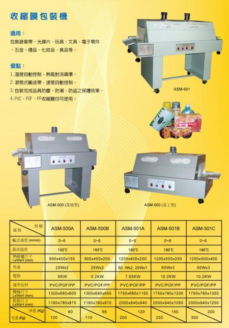 收縮膜包裝機 (中文版)
