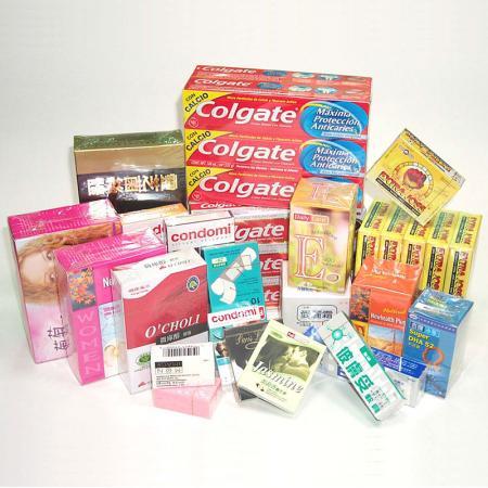 薬物、コンドームボックス