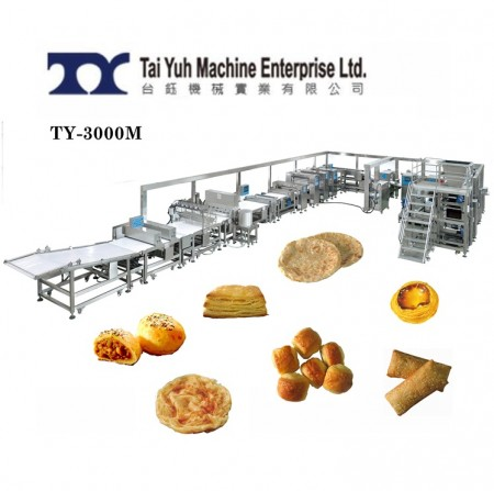 Automatic Puff Pastry machine - Automatic pastry making machine