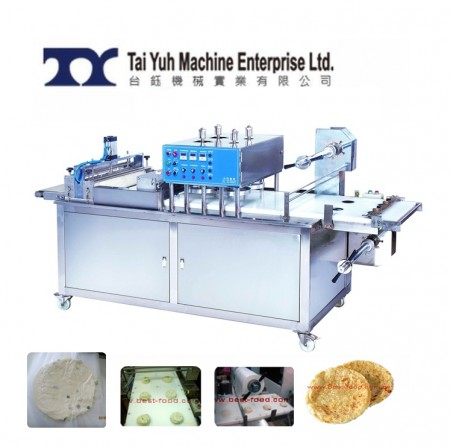 Paratha pressing Machine - Paratha Filming and Pressing Machine