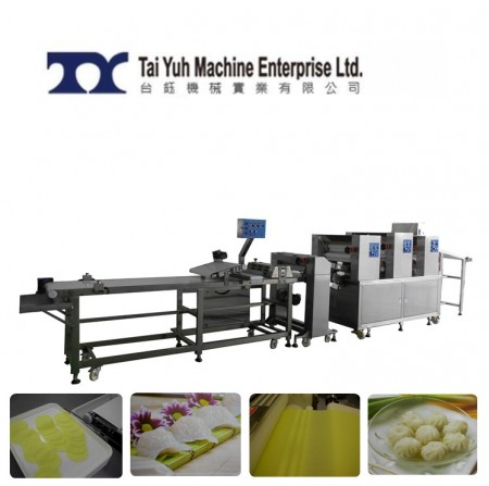 Dumpling Wrapper Making Machine - Har Gao and Dumpling Wrapper Making Machine