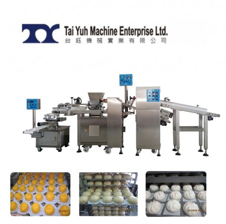 Customized automatic bun making machine - Steamed Meat Bun Making machine