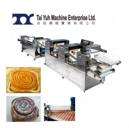 Cinnamon Roll Bread making machine - Cinnamon Roll,bread