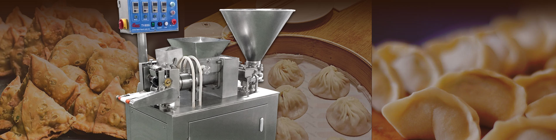 Dumpling, Samosa, Mini Juicy Bun TY503G dumpling machine