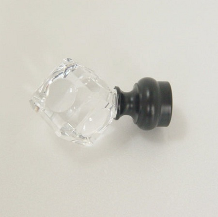 Square Acrylic Window Finial - square_acrylic_window_finial