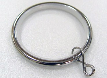 Curtain Ring with plastic linings