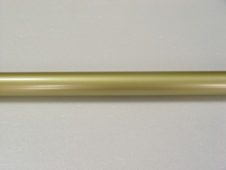 Coating Metal Curtain Rod in Gold - coating_curtain_rod_in_gold