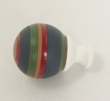 Colorful Ball Curtain Finial