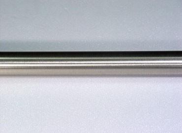 Metal Curtain Rod Brushed Nickel Finish - Iron Curtain Pole In Brushed Nickel Finish