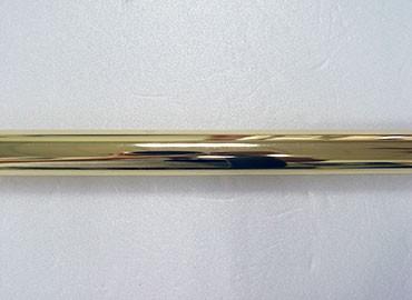 Bright Brass Metal Curtain Rod - Bright Brass Curtain Rod made of Iron