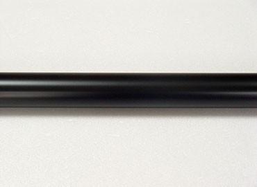 Coating Metal Curtain Rod in Black - Coating Metal Curtain Rod in Black