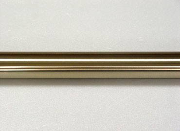 Soft Brass Iron Curtain Rod - This Soft Brass Curtain Pole is made of Iorn