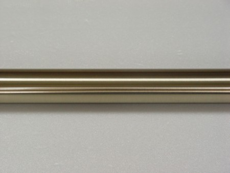 Soft Brass Iron Curtain Rod - this_soft_brass_curtain_pole_is_made_of_iorn