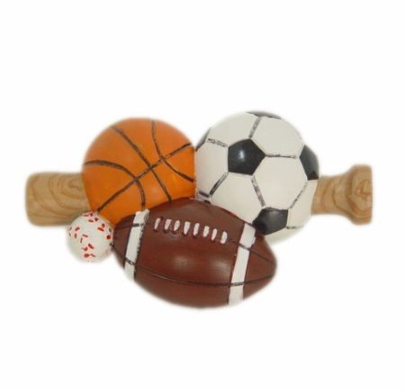 Sport Balls Window Finial