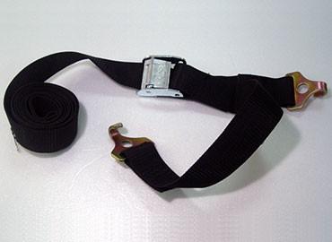 Fasten tie down strap
