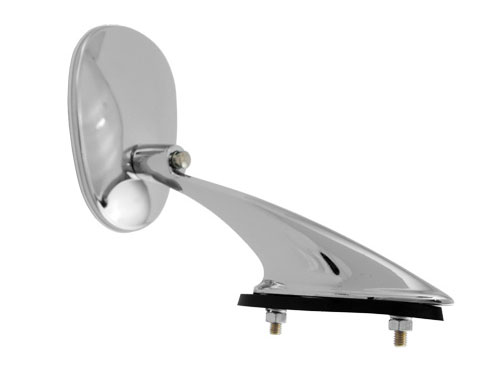 Oval Exterior Mirror for VW Beetle