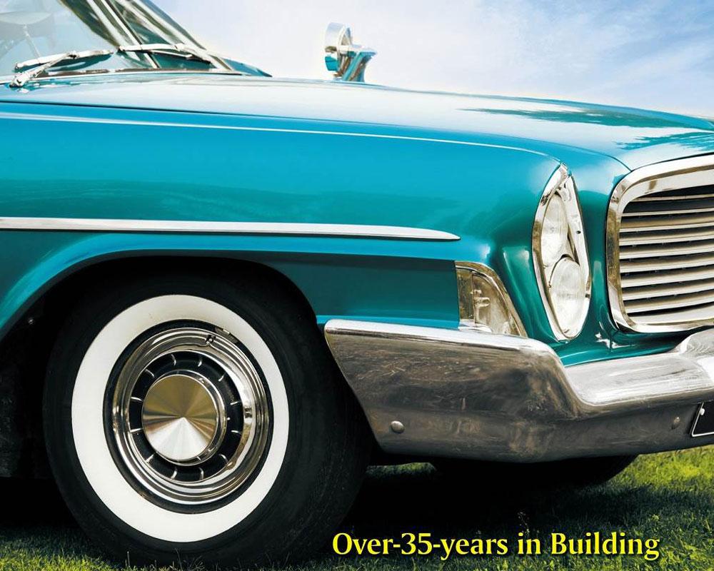 Classic car parts, replacement parts