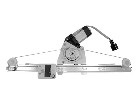 FIAT - High Quality Front Power Window Regulator Left with motor for Fiat 500 2D City Car 2007-2012
