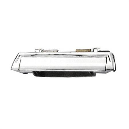 Replacement Exterior Door Handle Front and Rear, Left Zinc Die casting with Chrome Plating without keyhole - Replacement Exterior Door Handle Front and Rear, Left Zinc Die casting with Chrome Plating without keyhole