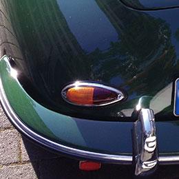 Porsche 356 baglygte