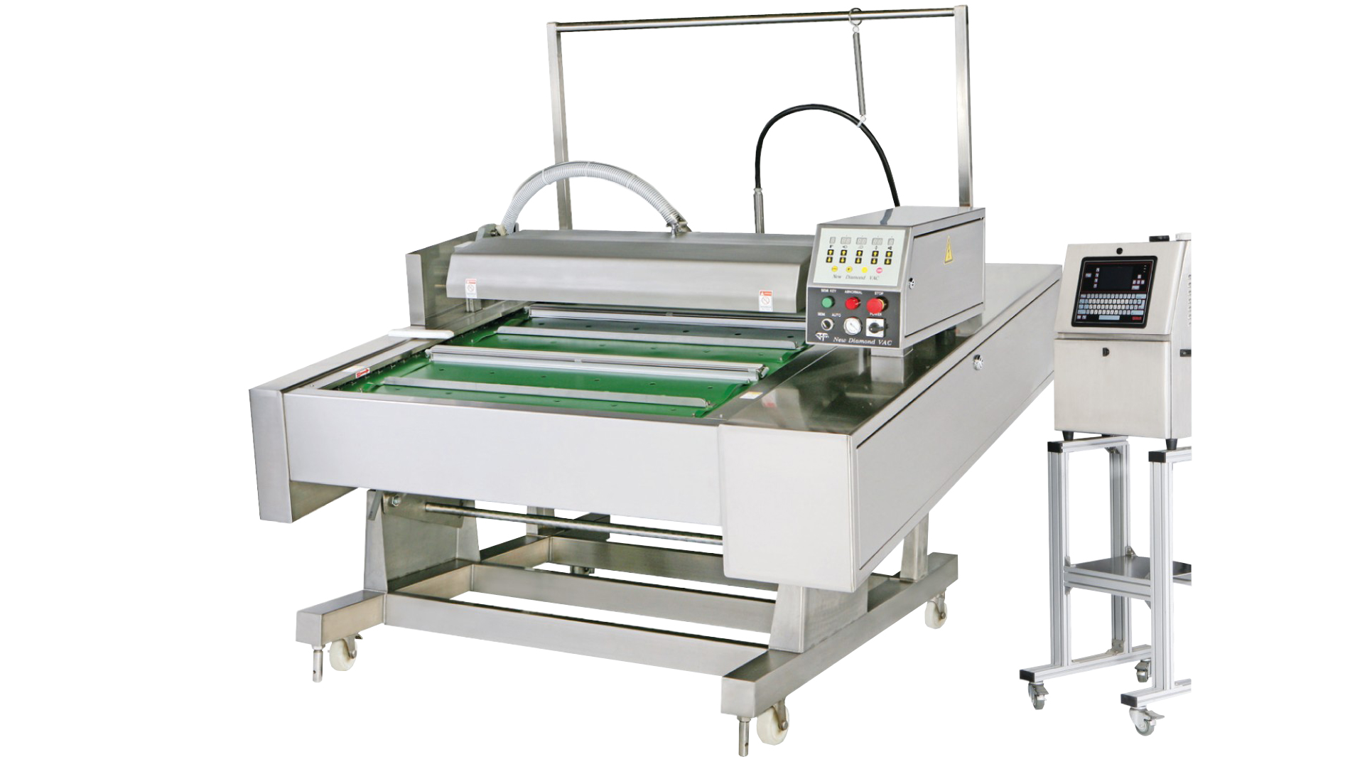 Continuous Belt Type Automatic Vacuum Packaging Machine With ...