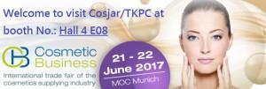 CosmeticBusiness 2017, MOC Munich
