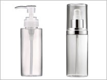 Cosmetic Bottle Packaging PETG Material