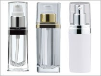 Cosmetic Bottle Packaging Square Shape