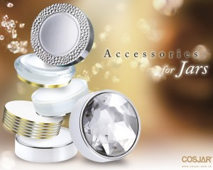 Skincare Cosmetic Cap / Jar Combination of COSJAR Products
