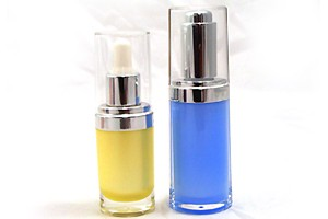 Dropper Cosmetic Packaging Oval Shape