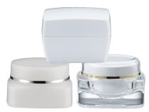 Cosmetic Jar Packaging Square Shape
