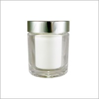 Acrylic Round Cream Jar, 70ml - CM-70 Metal Planet