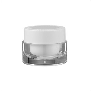 Acrylic Round Cream Jar, 30ml