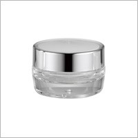 Acrylic Round Cream Jar, 30ml - HD-30 Metal Planet